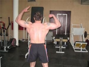 Моя детализация спины