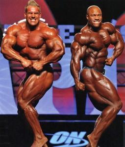 Фил Хит и Джей Катлер Олимпия 2011