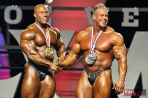 Фил Хит и Джэй Катлер Мистер Олимпия 2011