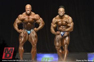 Фил Хит и Кай Грин максимальная мускульность
