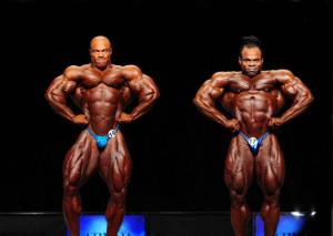 Фил Хит и Кай Грин широчайшие мышцы спереди