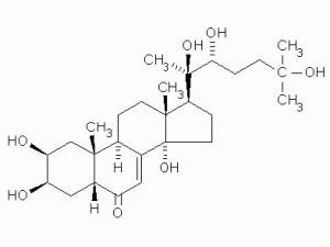 Экдистерон - формула