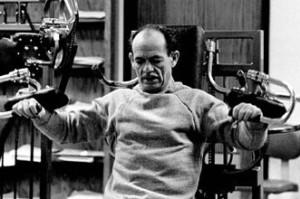 Артур Джонс - тренинг в тренажере