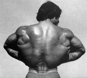 Франко Коломбо - широчайшие мышцы
