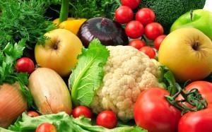 свойства овощей и фруктов в зависимости от цвета