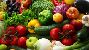 фрукты и овощи - вегетарианство