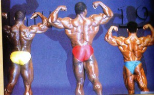 Мистер Олимпия 1989 - Двойной бицепс сзади