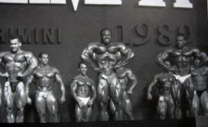 Мистер Олимпия 1989 - обязательные позы