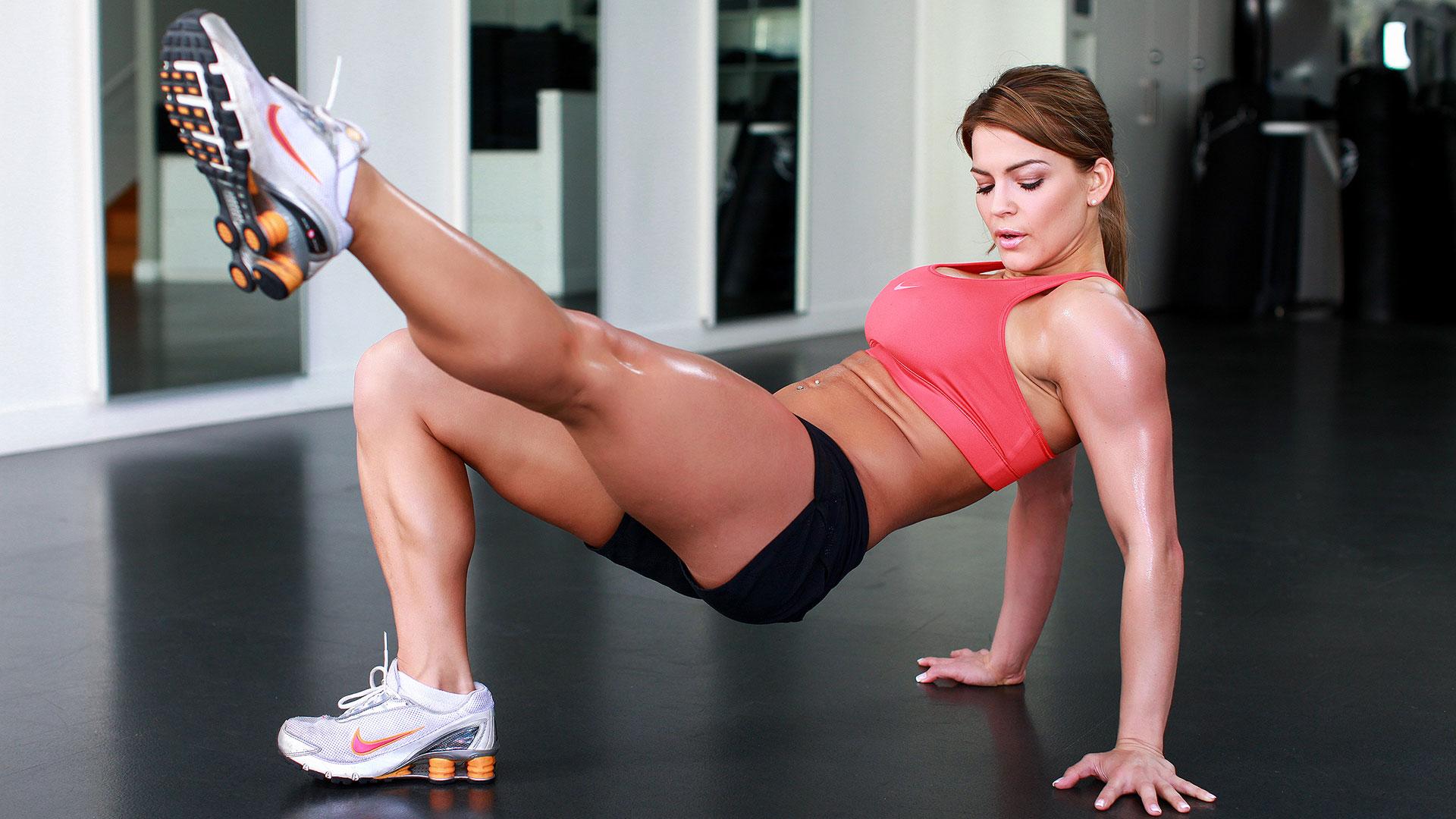 Audrey bitoni gym sex