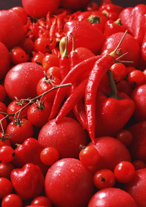 Красные овощи