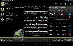 приложение Sleep As Android
