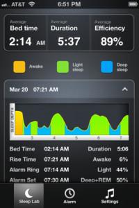 приложение Sleep Time