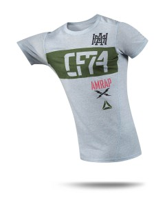 футболка Reebok CrossFit Performance Tri-Blend CF74