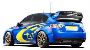 Subaru Impreza WRX STI ралли