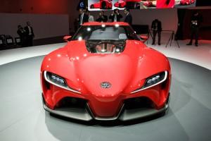 Toyota FT-1 Будущее Тойота
