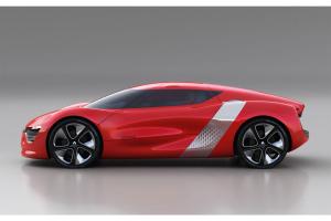 Renault DeZir - сбоку
