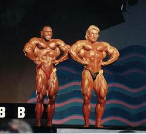 Ли Хэйни и Дориан Ятс - Мистер Олимпия 1991