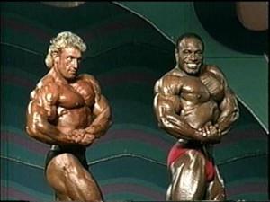 Мистер Олимпия 1991 - Ли Хэйни и Дориан Ятс