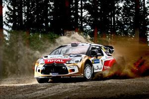 Новый раллийный Citroen DS3 WRC