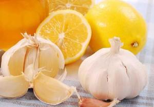 Лимон и чеснок