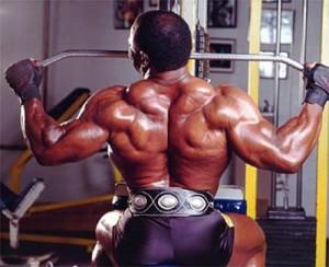 Ли Хэйни - тяга верхнего блока к груди