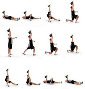 упражнение турецкий подъем