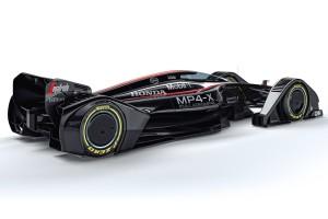 McLaren MP4-X Формула 1