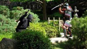 Нидзя против самурая