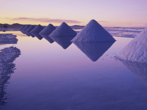 Соль в природе