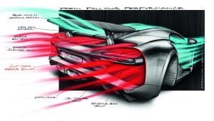 Bugatti Chiron рисунок-проект