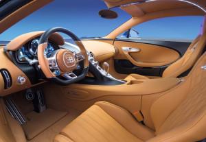 Bugatti Chiron 2016 салон