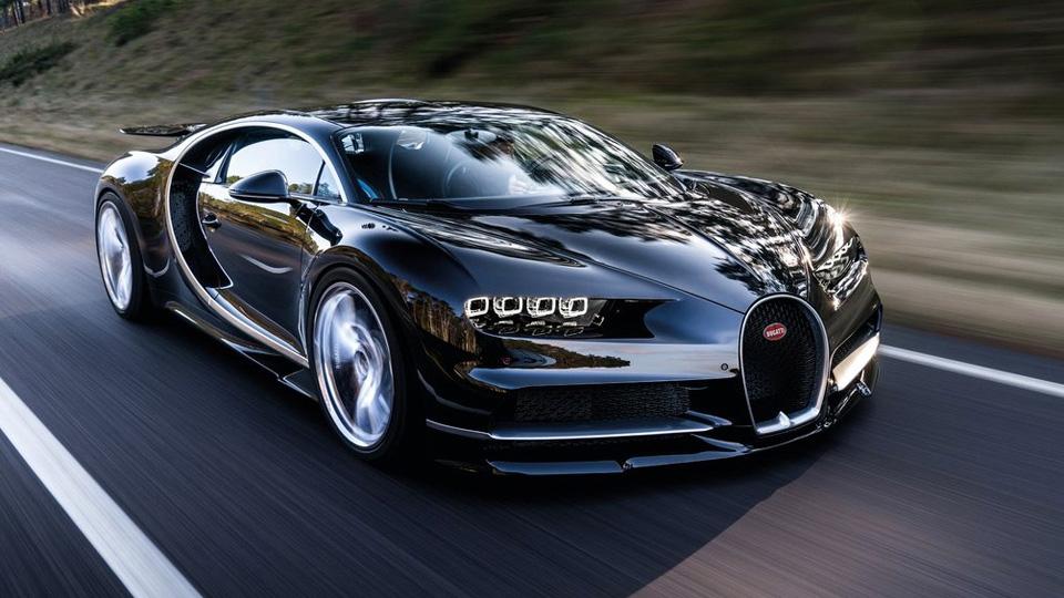 Bugatti Chiron Sport обзор