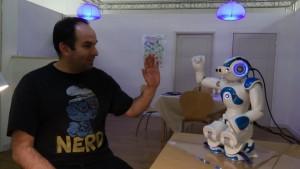Общение с роботом