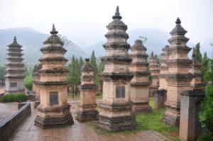 Монастырь Шаолинь в Китае