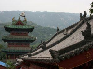Монастырь Шаолинь в провинции Хэнань