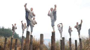 Подготовка шаолиньских монахов