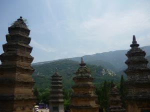 Шаолинь на горе Суншань