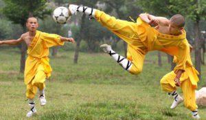 футбол шаолиньских монахов