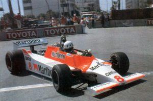 Mclaren Formula-1 1980-е