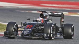 Mclaren Formula-1 2016