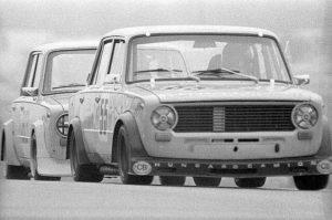 ВАЗ 2101 на кольцевых гонках