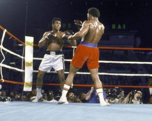 Мохаммед Али против Джорджа Формана 1974 год