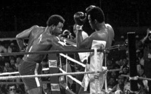 Muhammad Ali vs. George Foreman in 1974