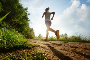 бег по пересеченной местности