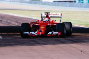Ferrari тестирует новые шины