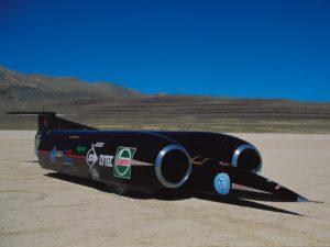 сверхзвуковой автомобиль Thrust SSC