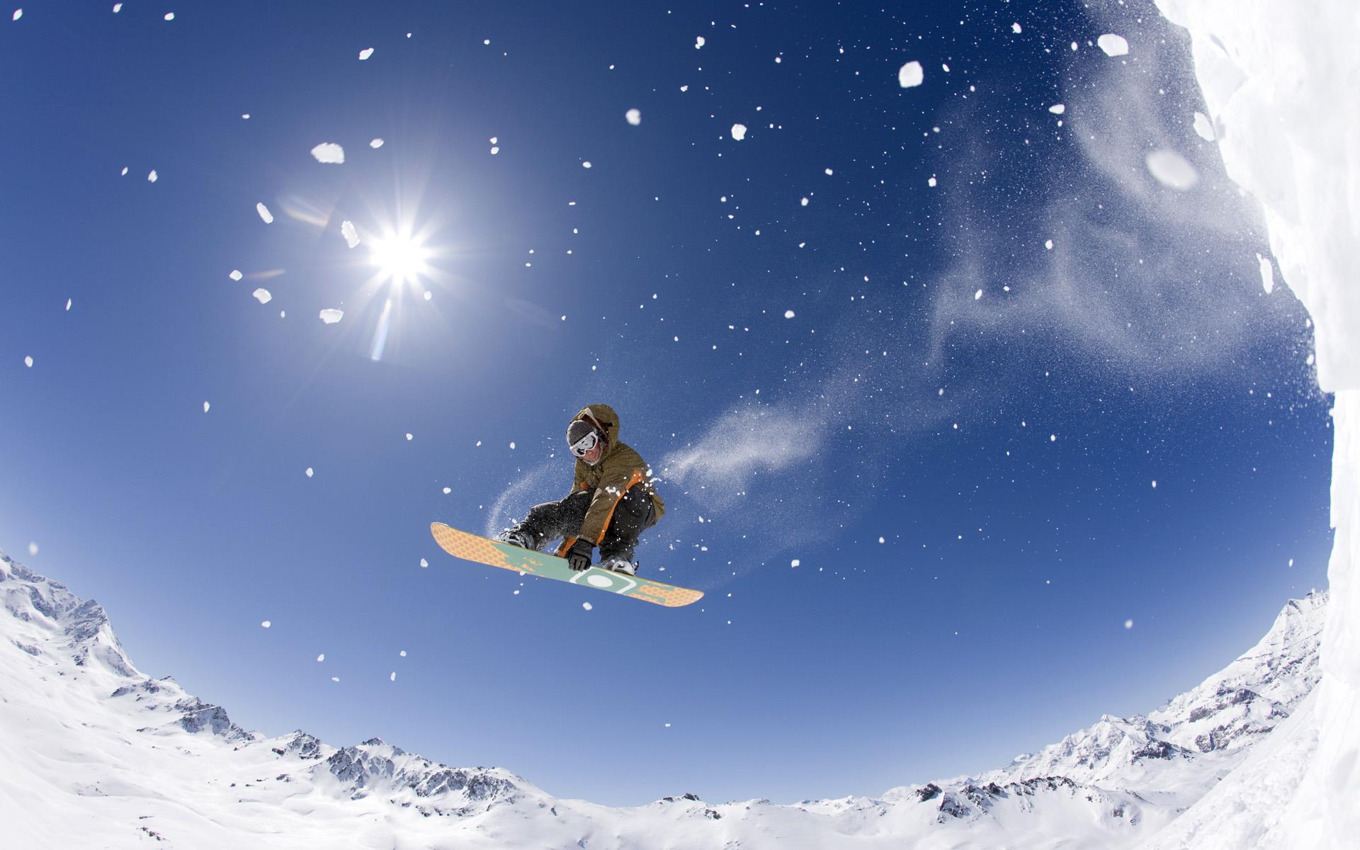 Экстремальный зимний спорт